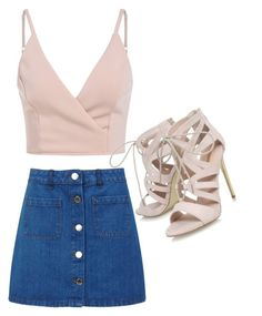 """""""Cute&Classy #5"""" by salmadivagirl on Polyvore featuring Miss Selfridge and Carvela"""