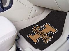 Customize your car or truck and show your team pride with these University of Idaho 2-pc Printed Carpet Car Mat Set by Fanmats. These Printed Carpeted Car Mats Set of 2 will easily fit most cars, SUVs