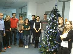 The 1&1 Internet Development Christmas Tree arrived, and has already been lovely decorated. It looks amazing!