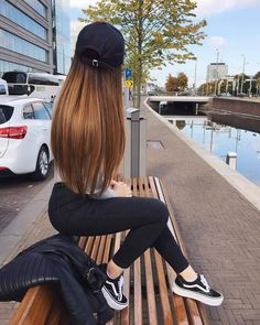 Imitando Fotos Tumblr, Brunette Tumblr, Hair Color 2017, Ombre Hair Color, Straight Hairstyles, Cute Hairstyles, Hairstyles 2018, Girl Photography, Nalu