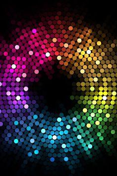 Rainbow Gradation Mosaic