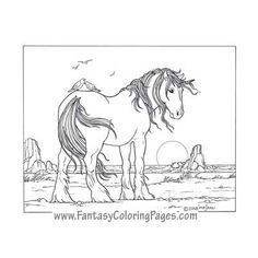 16 Of The Most Beautiful Unicorn And Pegasus Coloring Pages Ever Created Each Which Has Been Perfected By Master Artist Ina Jane Find This Pin More