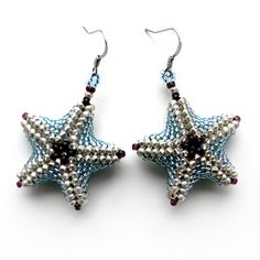 starfish earrings by Anabel