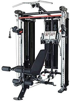 Inspire Fitness Functional Trainer and Smith Station (Inspire (with Bench)) : Sports & Outdoors Crossfit Equipment, Home Gym Equipment, No Equipment Workout, Home Design, Personal Training Studio, Olympic Weights, Fitness Facilities, Garage Gym, Functional Training