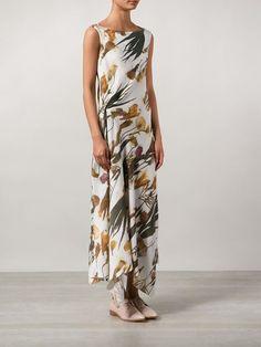 H. Lorenzo X Dongliang Deepmoss Floral Print Dress - H. Lorenzo - Farfetch.com