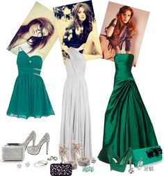 """""""slytherin house Yule ball outfits"""" by memzo10 ❤ liked on Polyvore"""