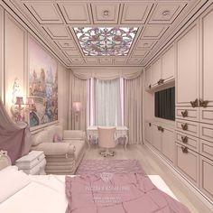 Дизайн детской комнаты для девочки 4-х лет. Квартира в ЖК «Сколково Парк»  http://www.line-mg.ru/dizayn-detskoy-komnaty-dlya-devochki-skolkovo