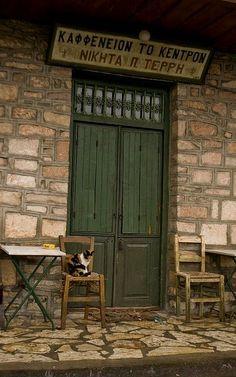 old cafe.. Zatouna, Arcadia, Greece | Flickr - Thalia Nouarou Photography