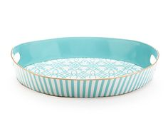 Gorgeous aqua tray discovered by my friend Janice.