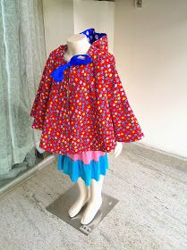 Sewing Patterns for Girls Dresses and Skirts: Cape with Hood Sewing Pattern, Hooded Cape, Halloween Costume