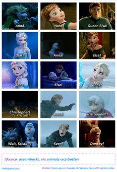 Pinned to Disney, even though donkey is dreamworks Funny Disney Jokes, Disney Memes, Funny Memes, That's Hilarious, Disney Facts, Funny Quotes, Arte Disney, Disney Magic, Disney Frozen