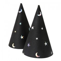 Moon and Stars Party Hats By Meri Meri