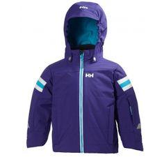 Helly Hansen K Velocity Insulated Winter Jacket. Three colourways - Racer Blue, Raspberry Red or Midnight Purple.