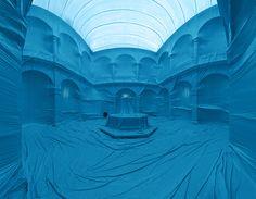 Intervenção Urbana: estruturas infláveis que se apropriam da arquitetura por Penique productions