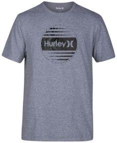 Hurley Men s Global Premium Graphic-Print T-Shirt - Gray 2XL Inverno 804111e005b