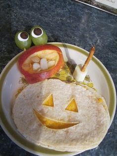 Halloween healthy treats  art and soul preschool