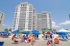 The possibilities for family fun are endless when you reside at Sea Watch Resort South Tower during your North Myrtle Beach vacation. A balcony in each North Myrtle Beach vacation rental either directly overlooks the Atlantic Ocean or offers side views of the ocean while looking out over the pool deck where the large, oceanfront swimming pool and lazy river can be found. Call 1-800-525-0225 for rates.
