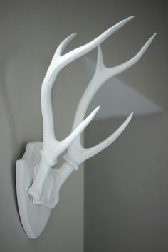 Atmospheric Antlers  Available at www.aprilandthebear.com Lifestyle Store, Bear Art, Beautiful Textures, Antlers, Make It Yourself, Contemporary, Ecommerce, Neutral, Craft Ideas