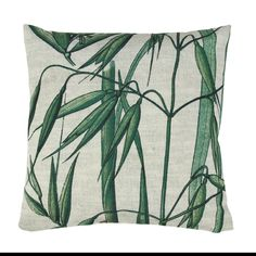 Get tropical with our stunning printed scatter cushions. Featuring bamboo leaves print one side and plain off white other side.Inner included.