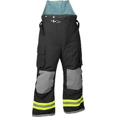 Fire-Dex Nomex III Deluxe Chieftain Express Turnout Gear Pants with Q8 Thermal Liner and Stedair 3000 Moisture Barrier
