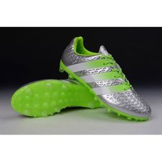 size 40 65118 6b429 Billige Fodboldstøvler Tilbud - Adidas ACE 16.1 FG-AG Eskolaite  Fodboldstøvler - Sølv Metallic
