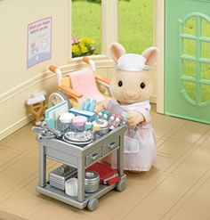 Calico Critters Country Nurse Set Playset