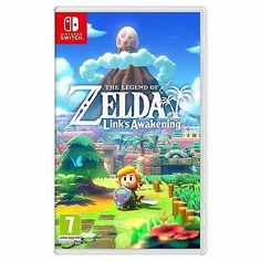 The Legend of Zelda: Links Awakening - Switch - Nintendo Switch spil Nintendo 3ds, Nintendo Switch Zelda, Nintendo Console, Nintendo Eshop, Nintendo Switch Games, The Legend Of Zelda, Legend Of Zelda Characters, Charmed Characters, Game Boy