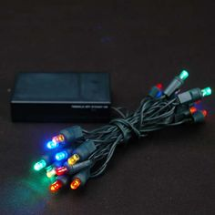 Pin By Lamppedia On White Led Christmas Lights Battery Operated