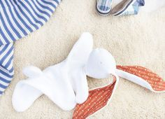The Bunny Lovey: A Free Sewing Pattern with Illustrated Instructions