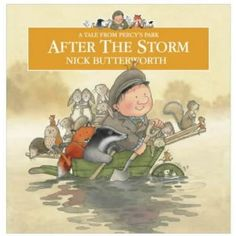 Need to get this book! 'After The Storm' by Nick Butterworth tells the tale of Percy the Park Keeper & how he rebuilds his park after a stormy night. Captivating illustrations & a beautifully descriptive text make this a great story to share. It has a greatending too. Perfect for exploring habitats, weather, friendship, teamwork, & life cycles.