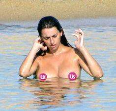 Penelope cruz breast implants