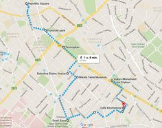 cityguide-belgrado-wandelroute-tasmajdan-vracar