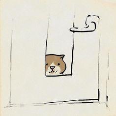 いーれーてー #イラスト #cat