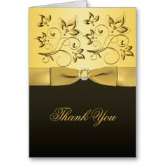 ==>>Big Save on          	Black and Gold Floral Jewelled Thank You Card           	Black and Gold Floral Jewelled Thank You Card We have the best promotion for you and if you are interested in the related item or need more information reviews from the x customer who are own of them before please...Cleck Hot Deals >>> http://www.zazzle.com/black_and_gold_floral_jewelled_thank_you_card-137209094752203153?rf=238627982471231924&zbar=1&tc=terrest