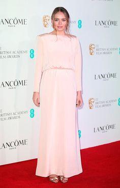 Cena nominados BAFTA 2016. Laura Haddock