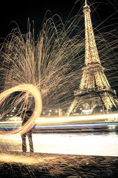 / Paris on Fire II by Xavier Liard, Undated Image. Oh Paris, Paris Love, Paris France, Paris Torre Eiffel, Paris Eiffel Tower, The Places Youll Go, Places To See, Monuments, Road Trip