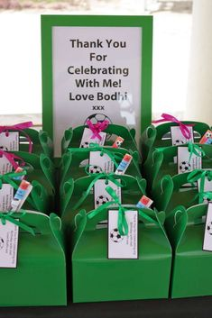 Soccer Green, Black & White Birthday Party Ideas   Photo 1 of 8   Catch My Party