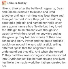 Deamus, Dean Thomas, Seamus finnigan, Harry Potter, hp