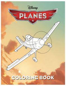 Disney Planes Printable Coloring Book