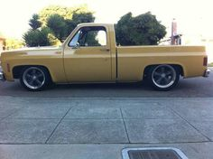 1973 C/10 Chevy - mine wasn't bagged but it looked a lot like this.