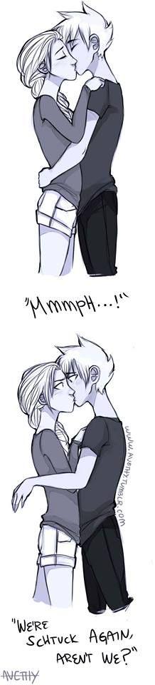 Realistic Jelsa kiss