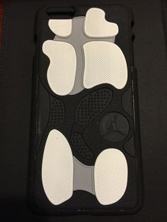 "Air Jordan Retro 13 ""Black/Grey"" Phone Case"