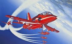 Red arrows of royal air force in farnborough aircraft wallpaper red arrows hd wallpaper voltagebd Images