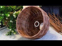 Абажур. Запись эфира. Часть 2 - YouTube Rattan Pendant Light, String Art, Wicker Baskets, Recycling, Youtube, Home Decor, Rope Crafts, Newspaper, Hampers