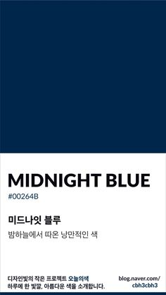 Midnight in blue Pantone Colour Palettes, Pantone Color, Pantone Navy, Midnight Blue Color, Navy Blue Color, Web Colors, Foto Blog, Blue Colour Palette, Colour Board