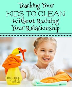 Is the daily chore battle taking it's toll on your relationship with your kids? Maybe it's time to end the battle. Read on.