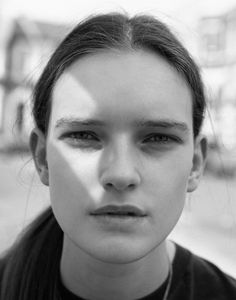 meet the new faces | i-D Magazine Lucy Evans Select model mamagement
