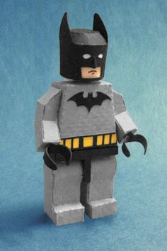 Paper LEGO Batman by kspudw