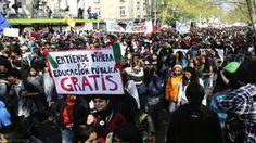 Estudiantes chilenos saldrán a las calles este jueves