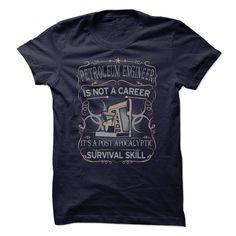 Petroleum Engineer Is Not A Career T Shirt, Hoodie, Sweatshirt